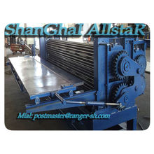 Barrel corrugated machine