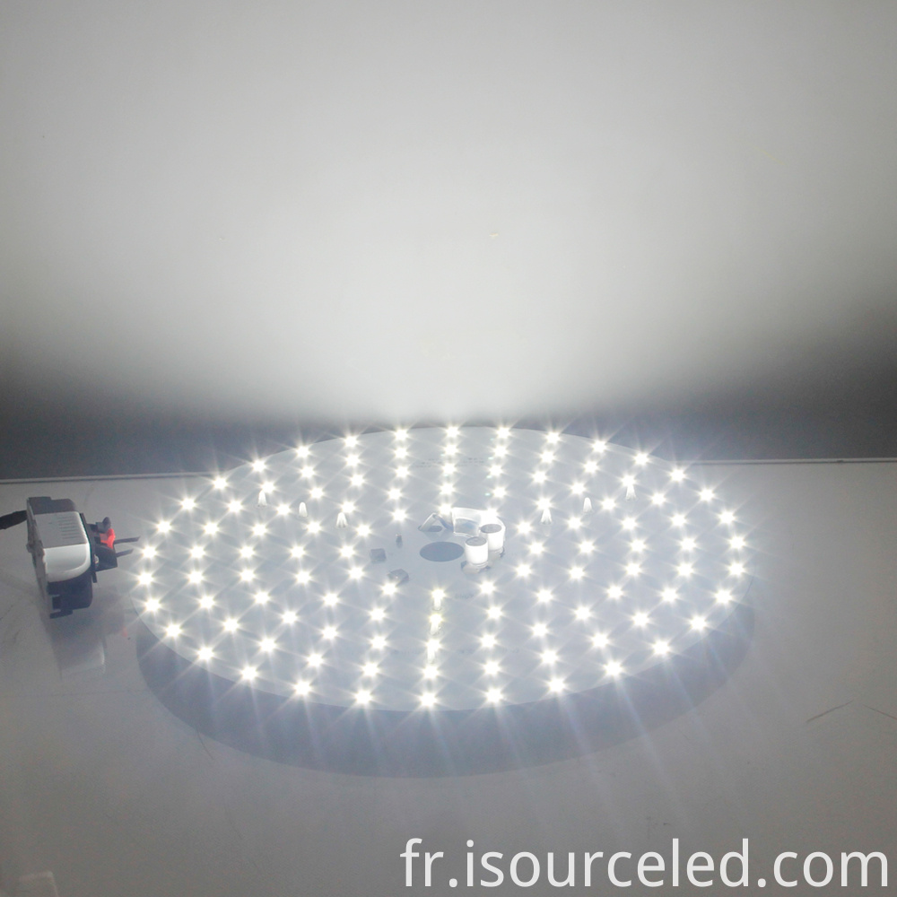 Luminescence Chart of 220v smd 2835 Round AC LED Module