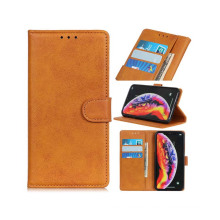 Wholesale custom simple Classic Design PU Leather Pouch Purse Protection Mobile Phone Case
