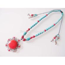 Bohème collier de perles Boho Turquoise collier de perles