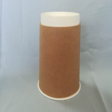 Disposable Kraft Printed Coffee Paper Cup Double Wall cup for hot drink