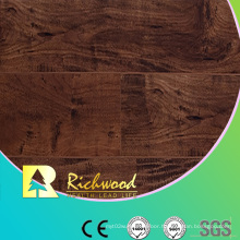 Household 8.3mm E0 HDF AC4 Embossed Hickory Laminated Flooring