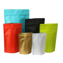 Stand up Pouches for Food Storage Packaging Dried Dates Peanut Food Snack Matte Zip Lock Bag