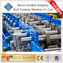 Estructura de metal cz purlin rodillo que forma la máquina para hacer la forma cz