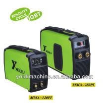 MMA 250PI inversor IGBT mma soldagem equipamentos solda arco