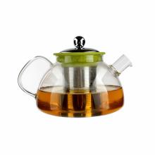 Promotion Gift Customized Pyrex Glass Teapot Transparent Coffee Pot