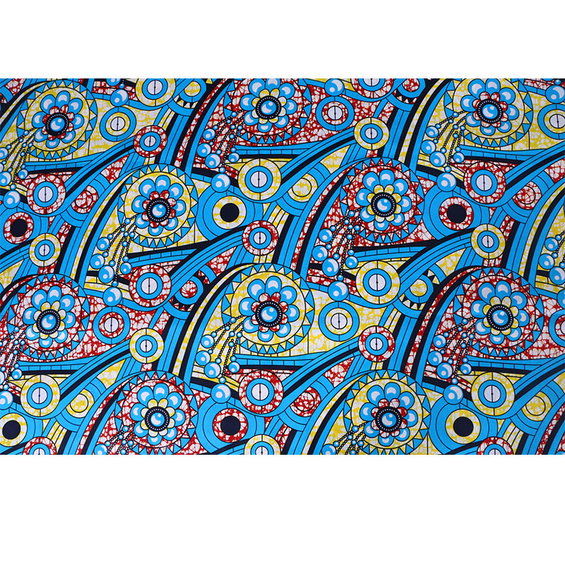 2019 Ankara African Wax Print Fabric Cotton