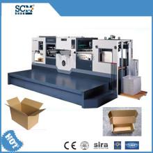 PVC / tela / corrugado / máquina de corte y arrugas de papel