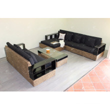 Best selling Water Hyacinth Large Living Sofa Indoor Home Furniture