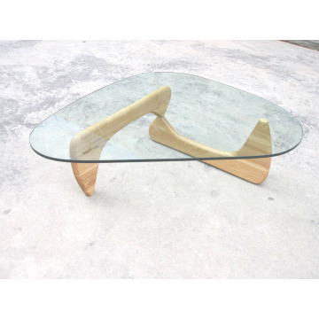 Isamu Noguchi Coffee Table with glass top