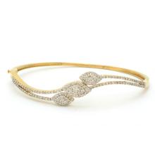 Eye com AAA Cubic Zirconia 925 Sterling Silver Bracelets Jewelry