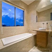 Feelingtop la meilleure fenêtre coulissante en aluminium de double glaçage de qualité
