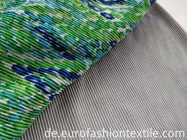 100% Polyester Pleat Fabric