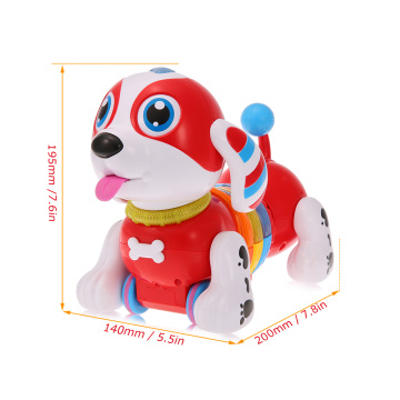 DWI innovative toys for children education rc intelligent robot dog with sound