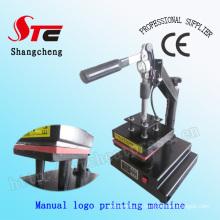 CE Manual Logo Heat Heat Machine Machine Logo Heat Transfer Machine Camiseta Mark Printing Machine Stc-Tb01