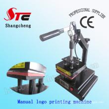CE Manual Logo Heat Press Machine T-Shirt Logo Heat Transfer Machine T-Shirt Mark Printing Machine Stc-Tb01