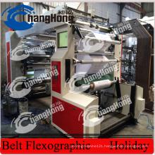 6 Colors 1200mm Non Woven Fabric Printing Machine (CE)