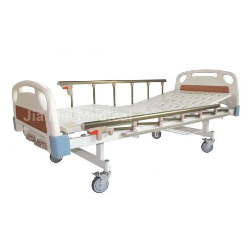 Cama de hospital manual de 2 manivelas