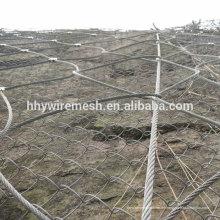 SNS Seil Netting Hang Schutz Netting Rock Fall Drahtseil Net Steinschlag Netting