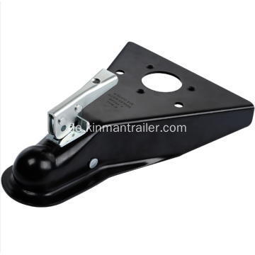 "Channel Tongue Trailer Coupler 2 ""Kugel"