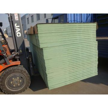 Green water resistant melamine color MDF board