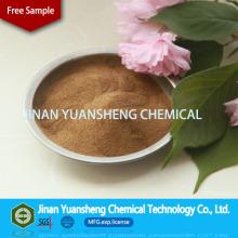 Химическая добавка Облигаций тугоплавких Лигносульфонат Cacium