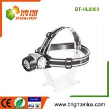 Factory Supply Hunting 7LED 10LED 12LED 18 LED ABS Plastique en plastique Materail 3 * AAA Battery Powered Headlight Headlight