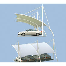 Membrane Structure for Car Shed