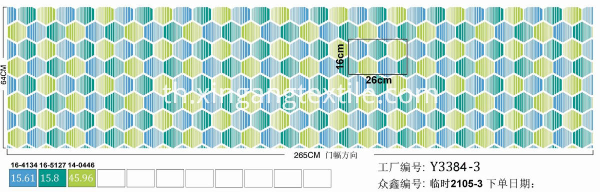 XINGANG BEDDING FABRIC (116)