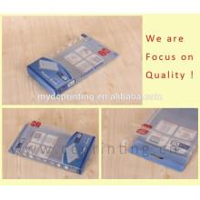 Acceptez les boîtes d'emballage matérielles de PVC de banque de puissance de PVC de commande faite sur commande