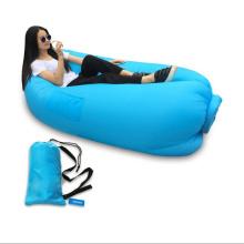 Высокое качество Новый дизайн Открытый события портативный надувной спальный мешок