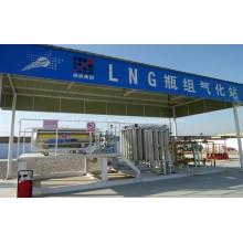 Ambient Vaporizer für LNG Filling Skid