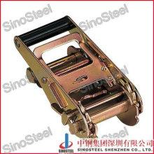 "2""- 50mm Short Wide Handle Ratchet Buckle with Safe Lock"