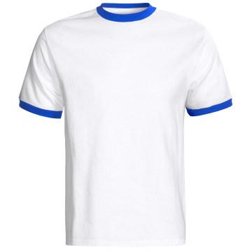 T-shirt à rayures en jersey de coton biologique Composition bambou