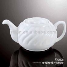 Saudável, durável, branca, porcelana, forno, seguro, suco, jarro, tampa