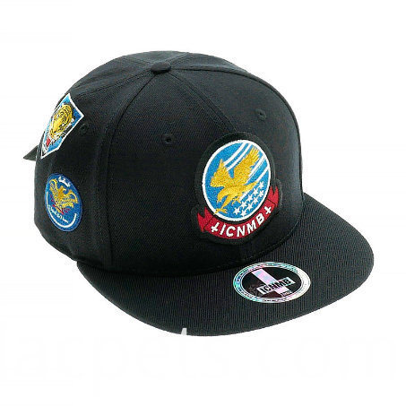 Custom 3d Embroidery Leisure Cotton Snapback Cap 1