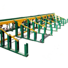 Ligne de découpage de cisaillement de Rebar en acier CNC