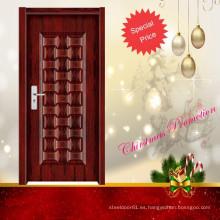 diseño de puerta interior de madera moderno de moda