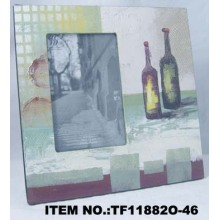 Oil Painting Glass Photo Frame