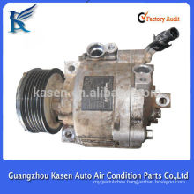 QS90 12v dc r134a air conditioner compressor for Mitsubishi lancer ex2.4 2014