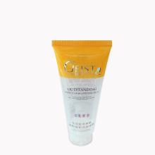 beautiful transparent plastic cosmetic sunblock packaging tube