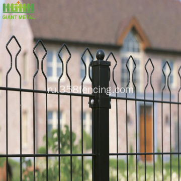 PVC+Coated+Decorative+Double+Garden+Fence