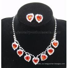 2014 nueva moda piedras preciosas falso cristal collar de piedra