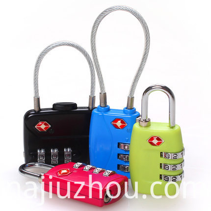 Travel Luggage Portable Lock