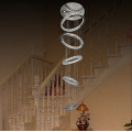 Luminarias Luxury K9 Crystal chandelier en verre