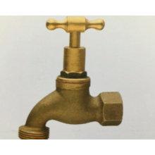 Surface manuelle cooper sablage en laiton robinet d'eau bibcock