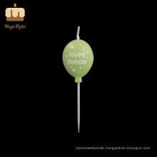 Chinese Smokeless Fancy Balloon Shape Birthday Candle UK