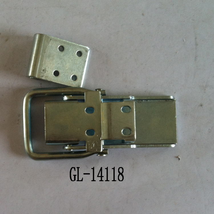 Cabinet Coated Metal Hasp Latch Toggle Lock