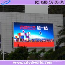 Цвет P10 smd3535 Сид 7500CD/m2 напольного полного цвета фиксированное светодиодная панель-экран для видео рекламы стены