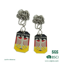 High Quality Wholesale Custom Metal Dog Tag Made in China